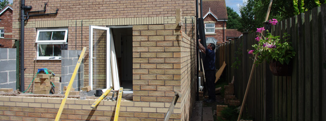 Bricklaying carried out by MR Parker Builders in Market Rasen